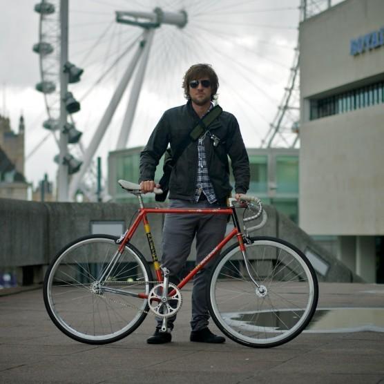 Andreas, London Cyclist