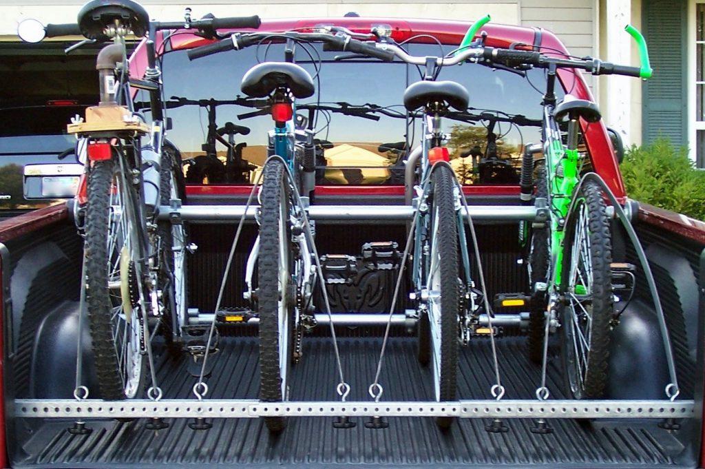 Truck Bed Bike Rack