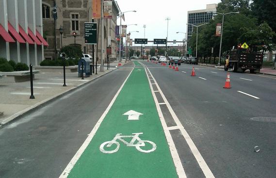 transportation201207newark-bike-lane-1