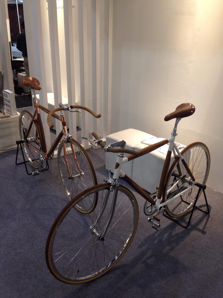 จักรยานไม้