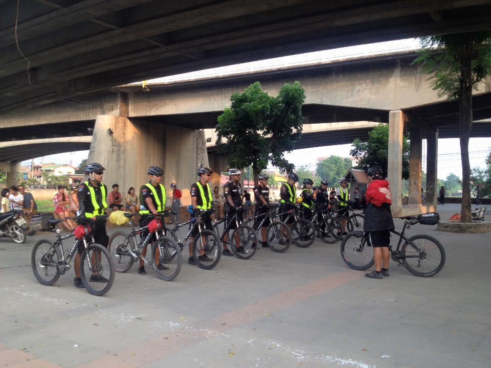 ตำรวจจักรยาน