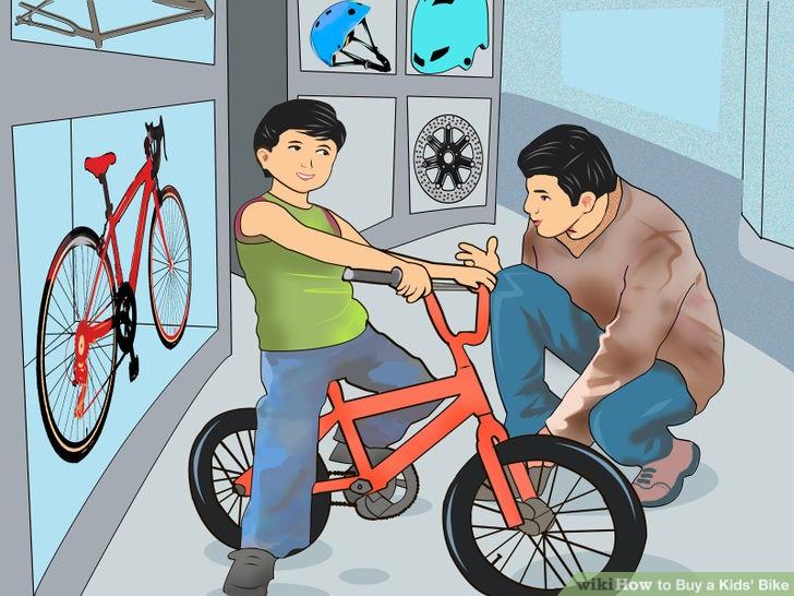 ขนาดจักรยานเด็ก