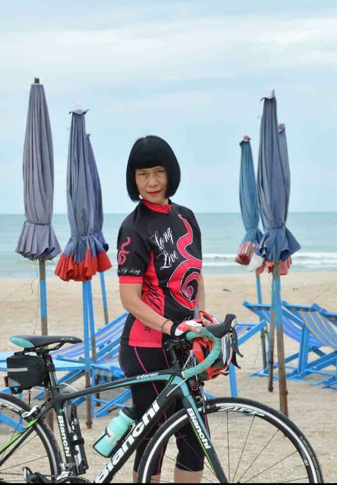 ป้าจิ จักรยาน