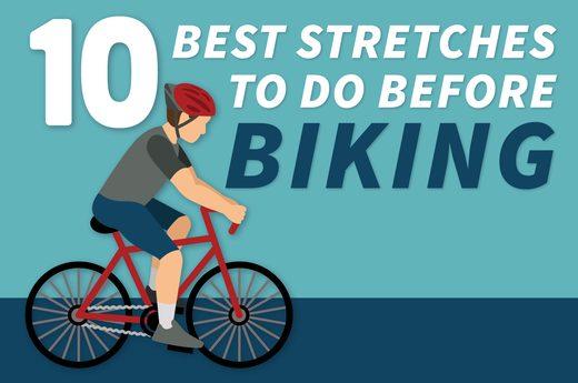 10 ยืดกล้ามเนื้อที่ดีที่สุด ก่อนที่จะปั่นจักรยาน