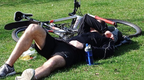 resting-after-cycling